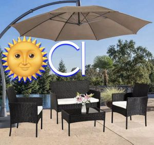 Brand New! Black Outdoor Patio Furniture Set for Sale in Orlando, FL