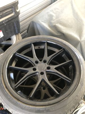 Ferrada wheels and tires for Sale in Atwater, CA