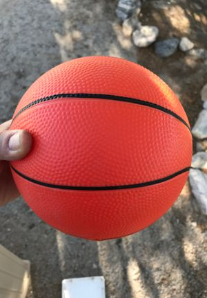 Kids toy rubber basketball for Sale in Yuma, AZ