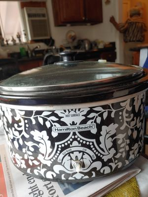 Used hamilton beach crock pot for Sale in Westminster, CO