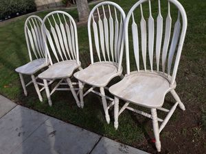 4 Antique chairs all 4 for 75 for Sale in Fresno, CA