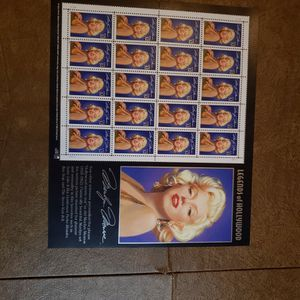 Marilyn Monroe stamp Page for Sale in Pompano Beach, FL