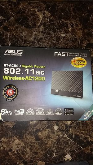 ASUS wireless router-AC 1200 for Sale in Waterford, CA
