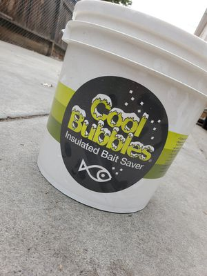 Fishing Cool Bubbles Livewell Bucket for Sale in Stockton, CA