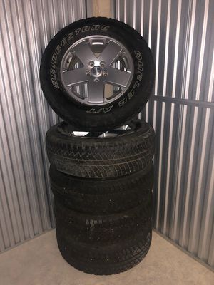 2012 Jeep Wrangler Wheels (Rims & Tires) for Sale in Breckenridge, CO