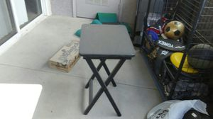 Black folding tv stand for Sale in US