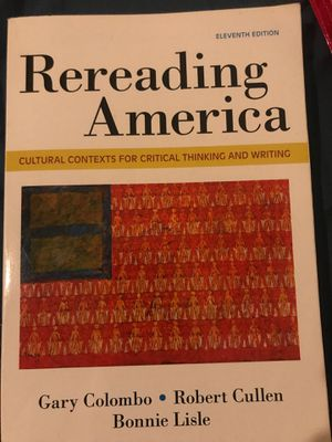 Rereading America 11th edition for Sale in Commerce, CA