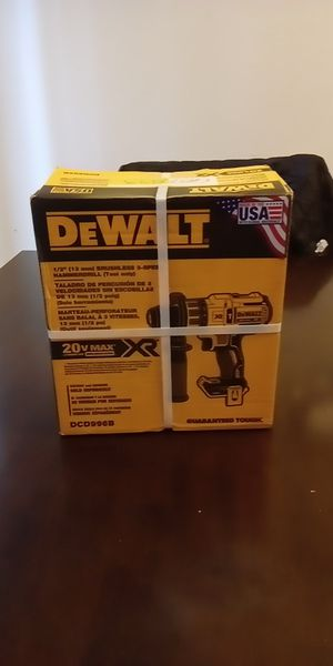 20-Volt MAX XR Lithium-Ion Cordless 1/2 in. Premium Brushless Hammer Drill (Tool-Only) for Sale in Edmonds, WA