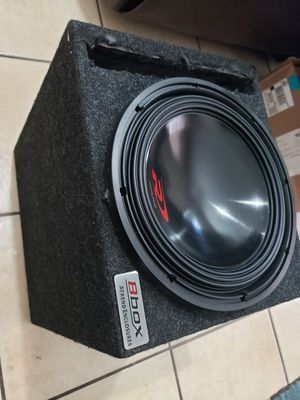 """ALPINE TYPE R 12"""" INCH DUAL 4 OHM 1000RMS 2000WATT PEAK WITH PORTED LIKE NEW for Sale in Ontario, CA"""