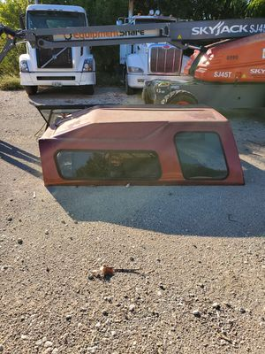 Truck camper shell for 8ft bed (290.00 cash obo) for Sale in Euless, TX