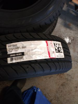 2 new tires 215/65R16 for Sale in Cleveland, OH