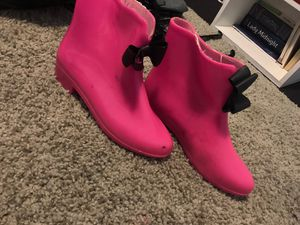 Pink rain boots for Sale in Dallas, TX