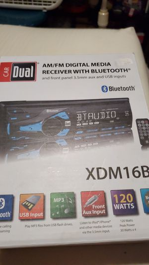 Media receiver with bluetooth for Sale in Norton, OH