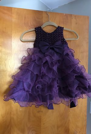 Plum Flower girl dress for Sale in Plymouth, CT