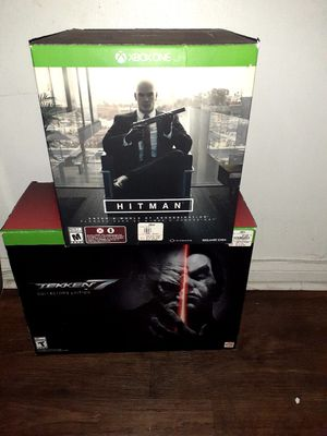 Xbox one original boxes ( empty with bbn original packaging inside. for Sale in Moreno Valley, CA