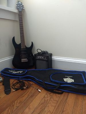 Washburn House of Blues Electric Guitar, amp, and tools for Sale in Washington, DC