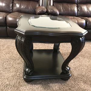Dark brown Coffee table, end table for Sale in Vancouver, WA