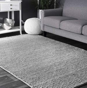 nuLOOM Chunky Woolen Cable Area Rug Light Grey 8x10 BRAND NEW for Sale in Glendale, AZ