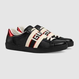 Gucci leather sneakers black for Sale in Sunnyvale, CA