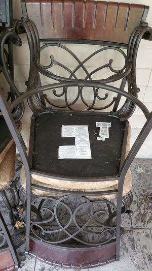4 chairs in perfect condition can be used anywhere with anything for Sale in Princeton, NJ