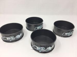"""Set of 4 - 4"""" nonstick mini spring form pans for Sale in Boulder City, NV"""