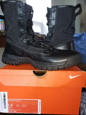 """FIRST RESPONDER NIKE SFB FIELD 8"""" TACTICAL BOOT MENS 6.5 (WOMENS 8.5) for Sale in Westville, NJ"""
