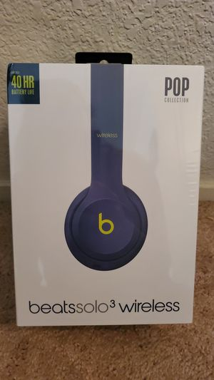 New Beats Solo 3 Color Pop Headphones (Value $159) for Sale in Ripon, CA