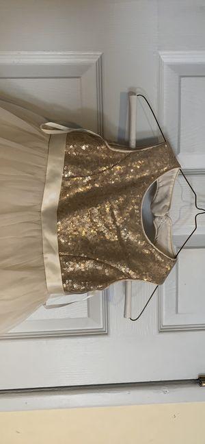 Size 5, David's bridal flower girl dress. for Sale in Philadelphia, PA