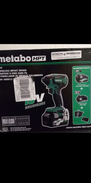Hitachi Metabo drill set for Sale in Lacey, WA