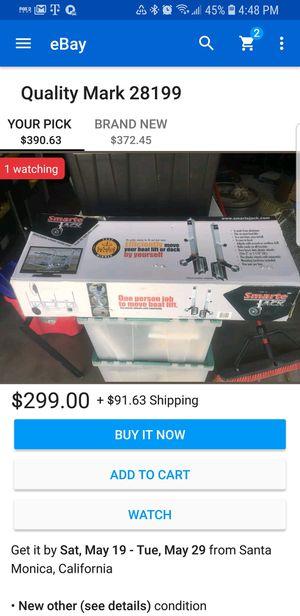 Smart jack for a boat for Sale in Detroit, MI