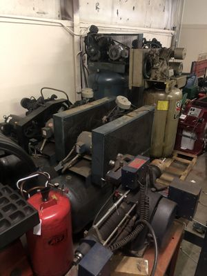 7-10hp air compressors for Sale in Manassas, VA