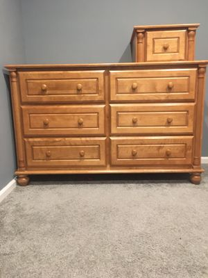 Solid wood dresser/ changing table. $100 for Sale in Jackson Township, NJ