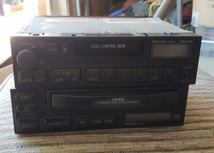 Toyota head unit with 3 CD changer for Sale in Poway, CA