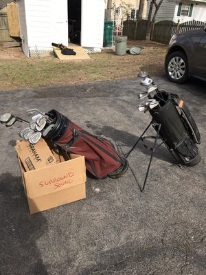 2 bags of golf clubs for Sale in Richmond, VA