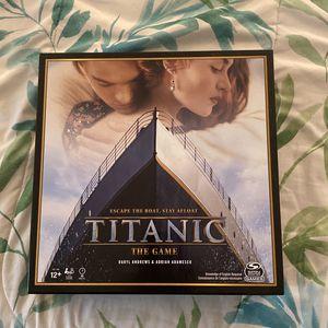 Titanic Board Game for Sale in Huntington Beach, CA
