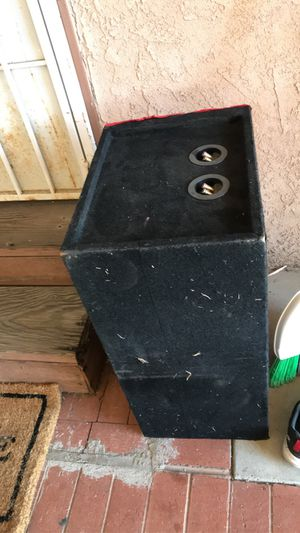 Box for sub 12 inch for Sale in Lynwood, CA
