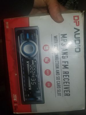 Car stereo with MP3 player and USB port for Sale in Renton, WA