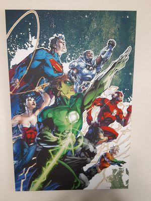 DC Comics Canvas painting for Sale in Sebring, FL