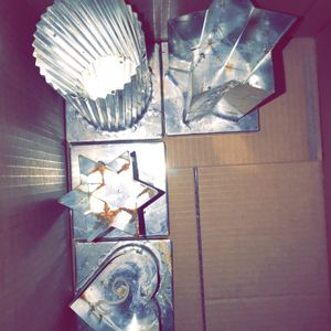 Metal candle molds for Sale in Bremen, GA