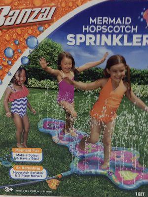 New Mermaid Hopscotch Sprinkler for Sale in Miramar, FL
