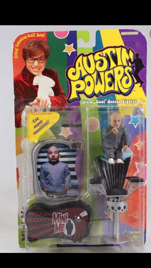 Brand New Mini-Me Action Figure from Austin Powers Issued in 1999 with Unopened Package in Mint Condition: 3 Available-All New Sealed: All 3 for $36 for Sale in Deerfield Beach, FL