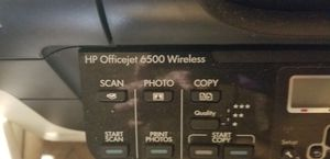 HP office jer 6500 wireless inkjet printer all in one for Sale in Aurora, IL