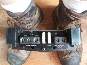 Car audio amp power acoustic for Sale in Blanchester, OH