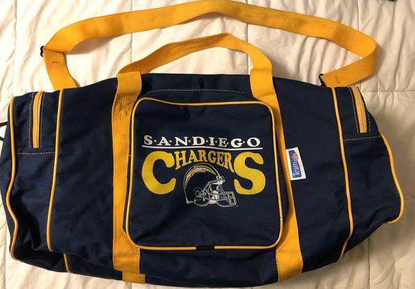 Vintage San Diego Chargers Football Team Bag