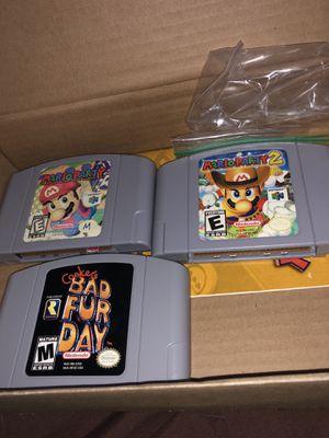 Nintendo 64 games for Sale in Fresno, CA