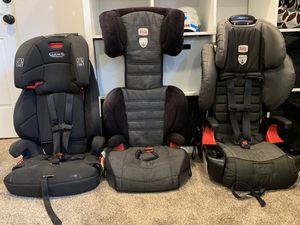 Convertible car seats- FREE BOOSTER! for Sale in Puyallup, WA