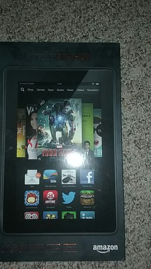Kindle fire HDX. Red. 32 GB. Box for Sale in Camas, WA