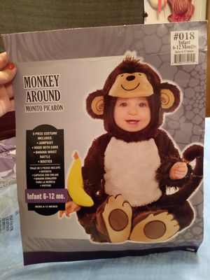 Monkey around infant Halloween Costume for Sale in Peoria, IL