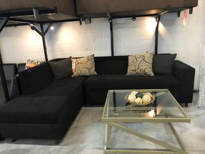 Black Sectional Sofa 💥💥ON SALE ONLY $299💥💥 for Sale in Miami Springs, FL