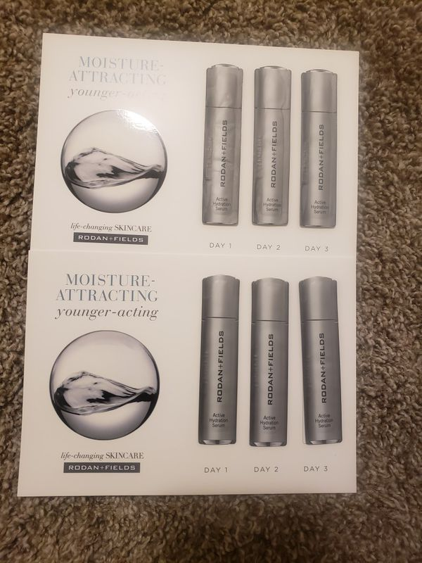 Activitie Hydration Serum samples